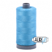 Aurifil 28 Cotton Thread - 1320 (Mid Blue - Bright)
